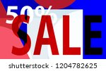 special sale banner or sale... | Shutterstock .eps vector #1204782625