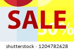 sale banner. off poster design. ... | Shutterstock .eps vector #1204782628