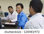 multi ethnic business people... | Shutterstock . vector #120481972