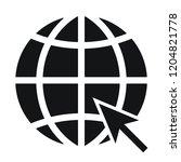 go to web icon. internet symbol ...