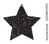 grunge star.vector dirty star.   Shutterstock .eps vector #1204847095