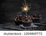 Delicious Birthday Cupcake With ...