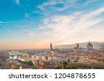beautiful view of santa maria... | Shutterstock . vector #1204878655