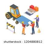construction industrial...   Shutterstock .eps vector #1204880812