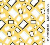 vector stylish seamless pattern ... | Shutterstock .eps vector #1204888708