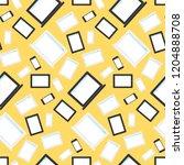 vector stylish seamless pattern ...   Shutterstock .eps vector #1204888708