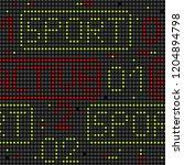 vector abstract seamless... | Shutterstock .eps vector #1204894798