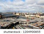 stockholm  sweden   2018 09 30  ... | Shutterstock . vector #1204900855