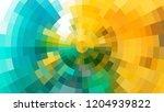 geometric design  mosaic ... | Shutterstock .eps vector #1204939822