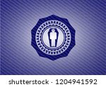 dead man in his coffin icon... | Shutterstock .eps vector #1204941592
