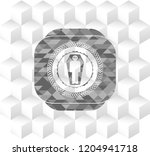 dead man in his coffin icon... | Shutterstock .eps vector #1204941718