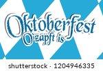 german munich beer festival... | Shutterstock .eps vector #1204946335