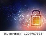 2d illustration of safety... | Shutterstock . vector #1204967935