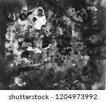 gray black and white gradient ... | Shutterstock . vector #1204973992