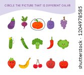 educational children game. kids ... | Shutterstock .eps vector #1204978585