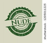 green nude rubber seal with... | Shutterstock .eps vector #1205011225