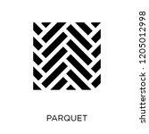 parquet icon. parquet symbol... | Shutterstock .eps vector #1205012998