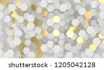 abstract lux background with... | Shutterstock . vector #1205042128