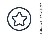 star icon. isolated vote and...