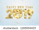 Creative Background  2019 Happy ...