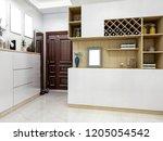 3d rendering modern housing...   Shutterstock . vector #1205054542