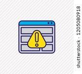 vector illustration of access... | Shutterstock .eps vector #1205080918