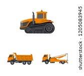 vector illustration of build...   Shutterstock .eps vector #1205083945