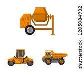vector design of build and...   Shutterstock .eps vector #1205084932