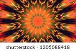 abstract circular matte pattern ... | Shutterstock . vector #1205088418
