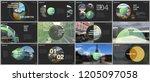 minimal presentations design ... | Shutterstock .eps vector #1205097058