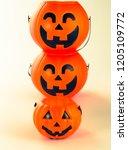 beautiful halloween decoration... | Shutterstock . vector #1205109772