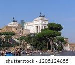 rome  italy   circa october...   Shutterstock . vector #1205124655