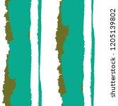 seamless grunge stripes.... | Shutterstock .eps vector #1205139802