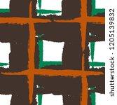 kilt texture. seamless grunge... | Shutterstock .eps vector #1205139832