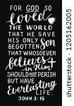 Golden Bible Verse John 3 16...