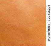 Close Up Orange Leather Texture