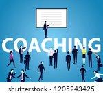 vector illustration. business... | Shutterstock .eps vector #1205243425