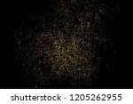 gold glitter texture isolated... | Shutterstock . vector #1205262955