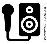 an mp3 player  music player  | Shutterstock .eps vector #1205320078