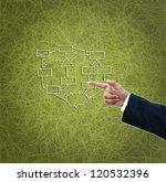 business ideas on green... | Shutterstock . vector #120532396
