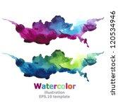 Abstract stripe paint : illustration EPS.10 vector   Shutterstock vector #120534946