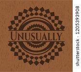 unusually wooden emblem. retro   Shutterstock .eps vector #1205393908