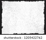 grunge frame.vector distress... | Shutterstock .eps vector #1205422762