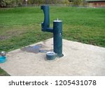Water fountain  bubbler  at a...