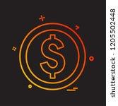 shopping icon design vector   Shutterstock .eps vector #1205502448