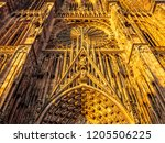 cathedrale notre dame or...   Shutterstock . vector #1205506225