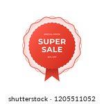 black friday sale banner.... | Shutterstock .eps vector #1205511052