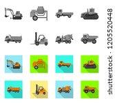 vector illustration of build...   Shutterstock .eps vector #1205520448