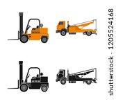 vector design of build and...   Shutterstock .eps vector #1205524168