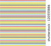 Seamless Line Pattern. Colorfu...